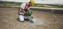 Securing access to Procter & Gamble's factory roofs - Romania, Schiau